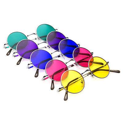 John Lennon  Vintage Retro Classic Circle Round Sunglasses Men Women Color  (Sunglasses Circle)
