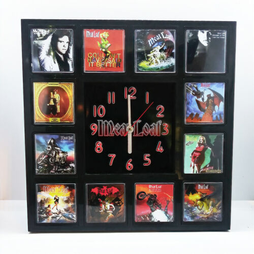 Meat Loaf Rock Band Wall Clock