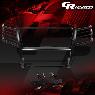 Headlight Brush Guard - MILD STEEL FRONT BUMPER HEADLIGHT/GRILLE BRUSH GUARD FOR 07-14 TAHOE/SUBURBAN