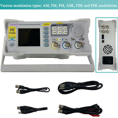 Fy6900 Dds Signal Generator Counter Frequency Meter Arbitrary Function 2.4inch