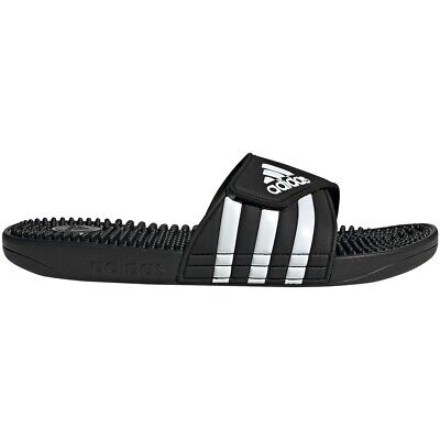 Adidas Men's Adissage Slides Sandals Flip Flops Black - F35580 (Adidas Mens Flip Flops)