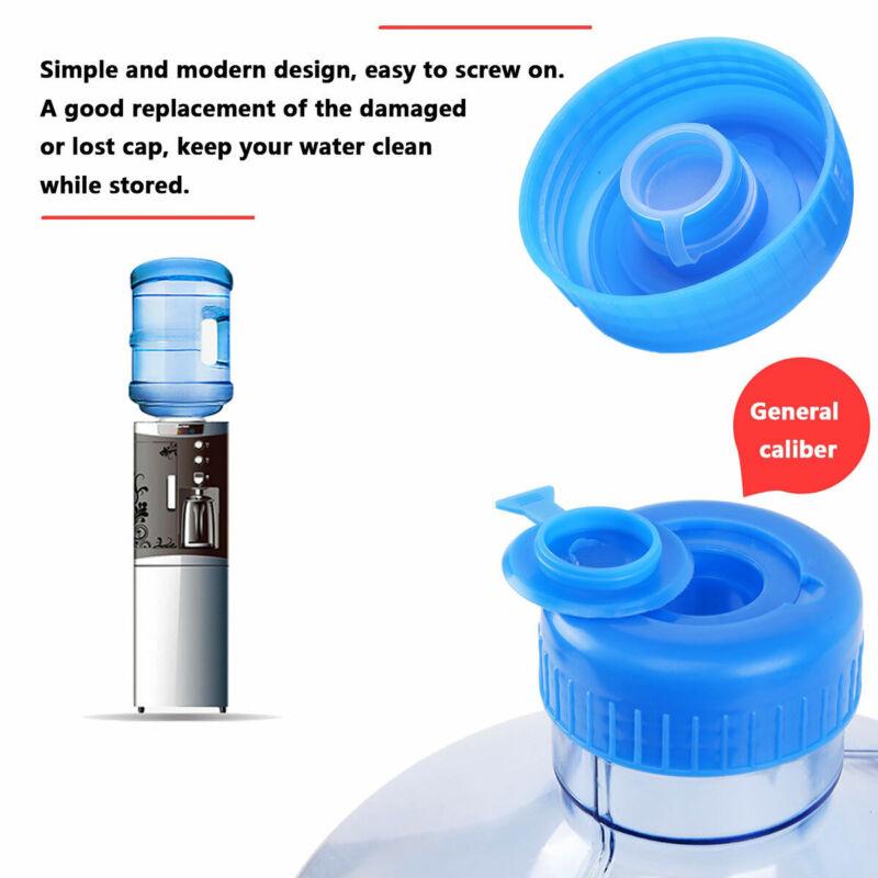 5Pcs 3/&5 Gallon Water Bottle Screw on Cap Reusable Replacement Anti Splash Lids