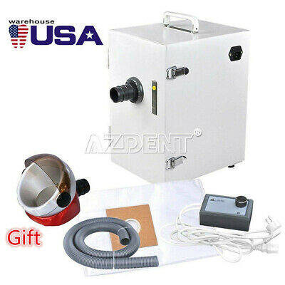 Dental Lab Digital Single-row Dust Collector Vacuum Cleaner Free Suction Base