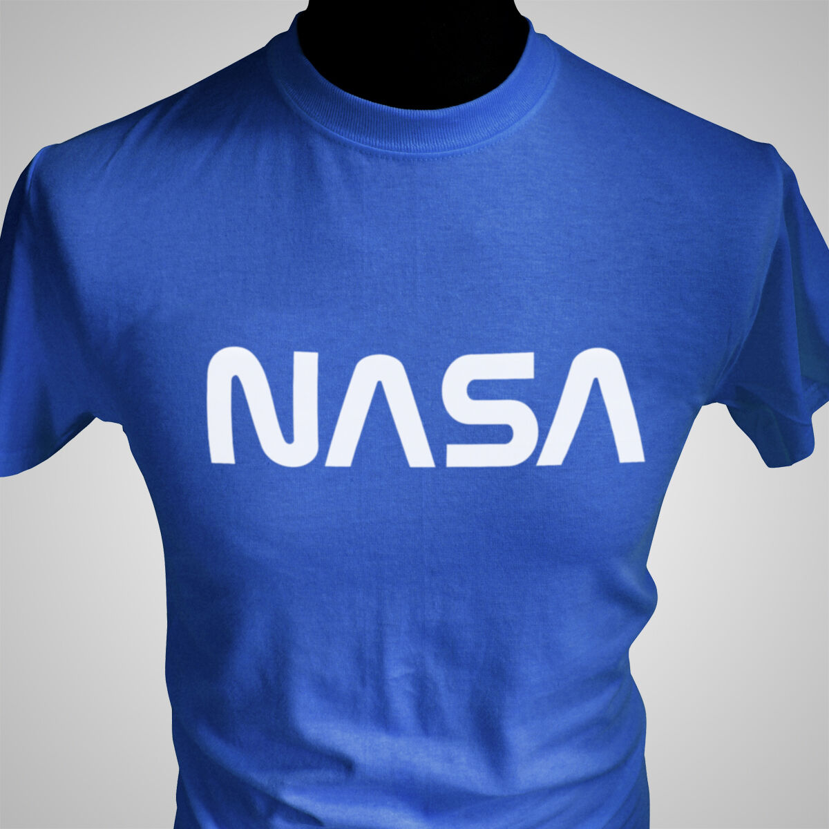 Nasa retro t shirt space academy 70 39 s vintage style tee ebay for Vintage t shirt company