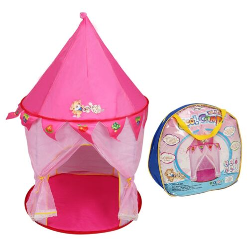 Foldable Princess Kids Castle Play Tent Indoor Outdoor House