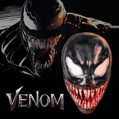 New Venom Mask Cosplay Edward Brock Face Mask Spiderman Venom Latex Masks - Latex Spiderman Mask