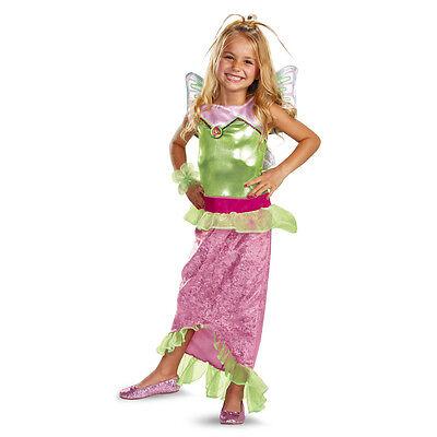 Flora Mermaid Classic Child Costume WINX Club | Disguise - Winx Club Kostüm
