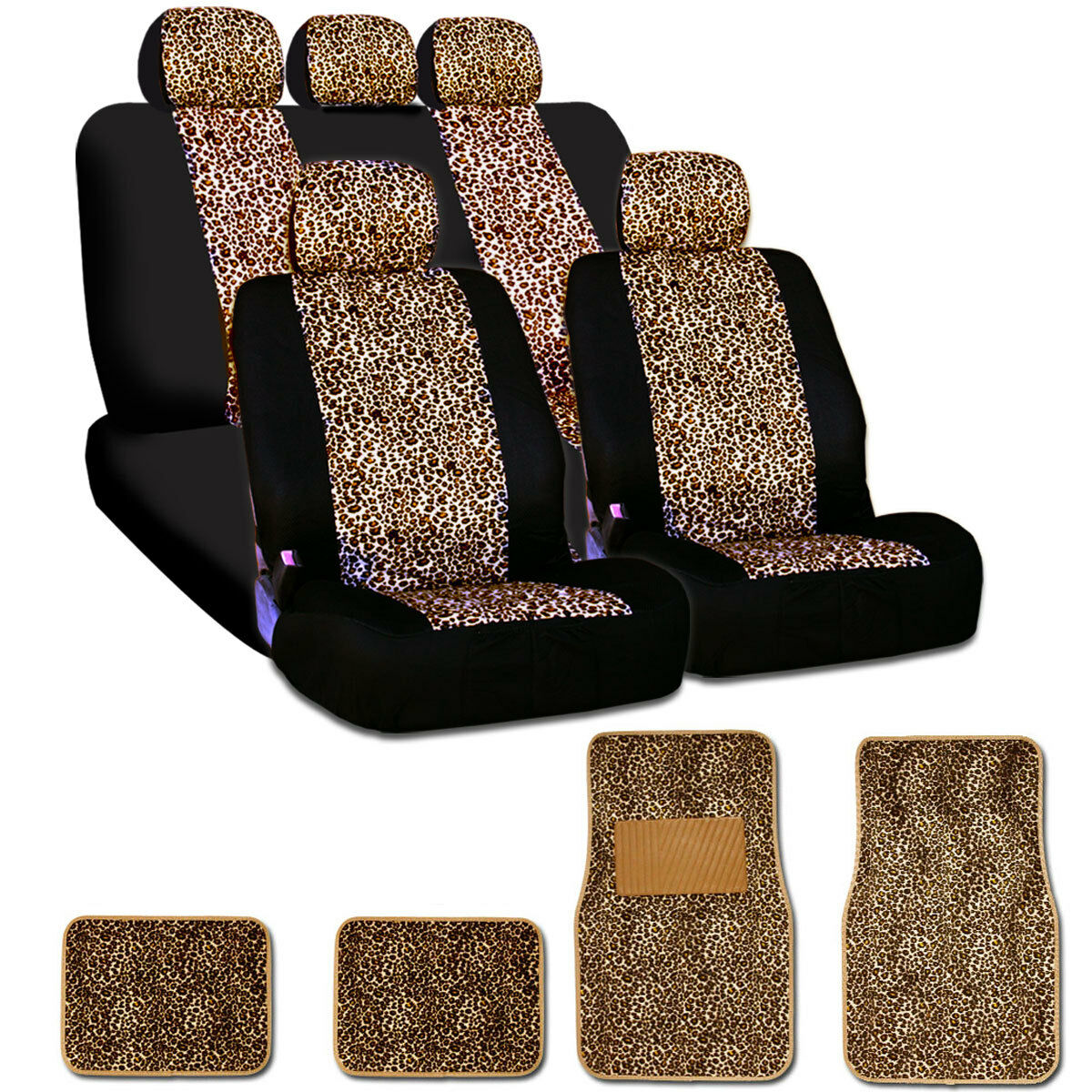 car accessories cheetah print car mats 2017 2018 best cars reviews. Black Bedroom Furniture Sets. Home Design Ideas