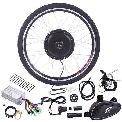 "36V Rear Wheel Electric Bicycle Motor Conversion hub Kit 500W 26"" Ebike Cycling"