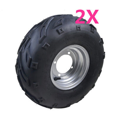 2x  16x8-7 Front/Rear Tire/Tyre For Kawasaki KFX50 4 wheeler ATV Quad Bike Buggy
