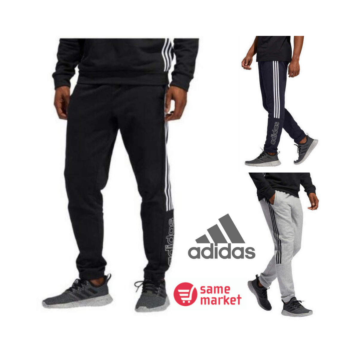 NEW!!! adidas Men's Sereno 19 Training Pants Size & Color VA