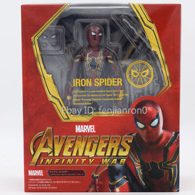 S H Figuarts The Avengers 3 Infinite War Iron Spider Man Action Figure Shf 09998