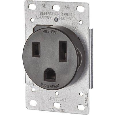 Leviton Welder Power Outlet 50a R10-05374-s00
