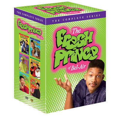 The Fresh Prince Of Bel Air Complete Series Seasons 1 2 3 4 5 6  24 Dvd Box Set