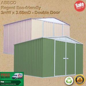 GardenShed.com.au - Absco Regent 3m X 3.66m garden shed Melbourne CBD Melbourne City Preview