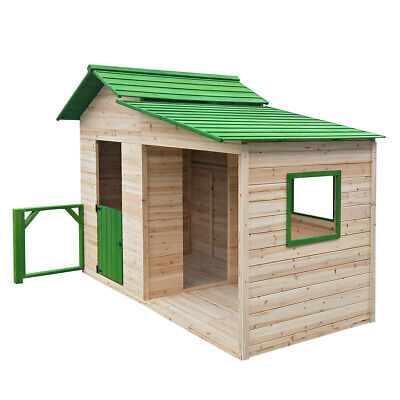 """BRAST Spielhaus """"Gartenlaube"""" für Kinder 3qm Kinderspielhaus Garten Holzhaus"""