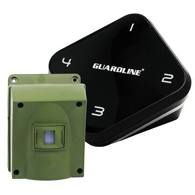 1/4 Mile Long Range Wireless Motion Alert & Driveway Alarm System by Guardline
