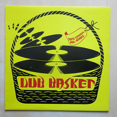RUPIE EDWARDS ALLSTARS Dub Basket UK 1st press vinyl LP Cactus CTLP107 1975 MINT