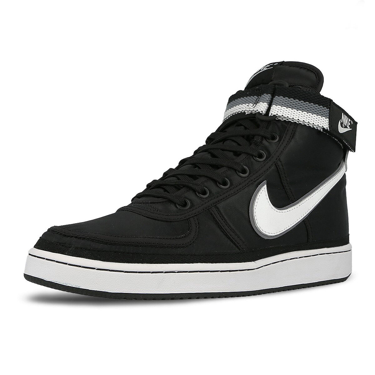 Nike Vandal High Supreme Black White Cool Grey Classic Shoes Sneakers  318330-001