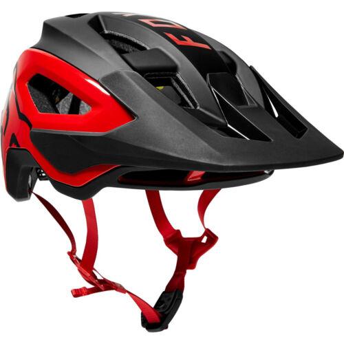 NEW Fox Racing Speedframe Pro MIPS Downhill MTB Bicycle Helmet Black/Red Medium