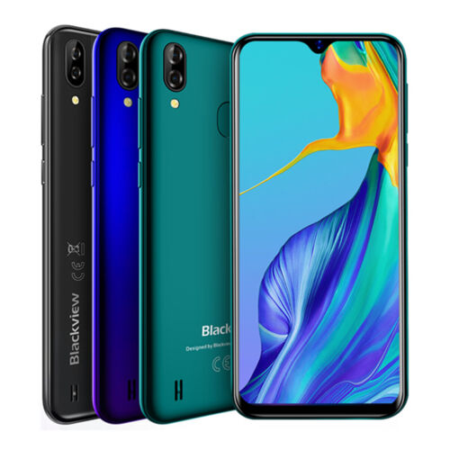 """Android Phone - Blackview A60 Pro Smartphone 3GB+16GB 4G Android 9.0 Mobile Phone Unlocked 6.1"""""""