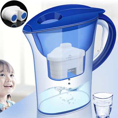 Alkaline Water 10 Cup Pitcher - Pure Healthy Mineral Water L