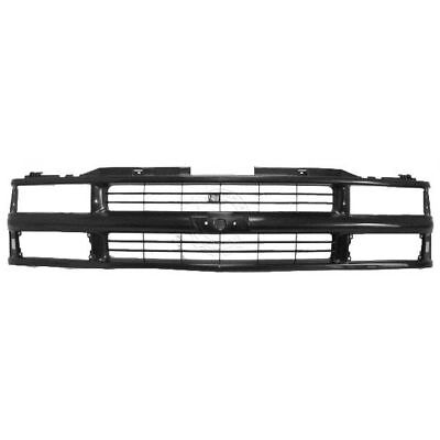 Grille Grill Front End Black for Chevy C/K Pickup Truck Suburban Tahoe Blazer