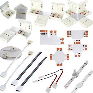 Connecteur-Cable-Pour-Rouleau-Ruban-Strip-LED-Single-RGB-2-4Pin-3528-5050-8-10mm