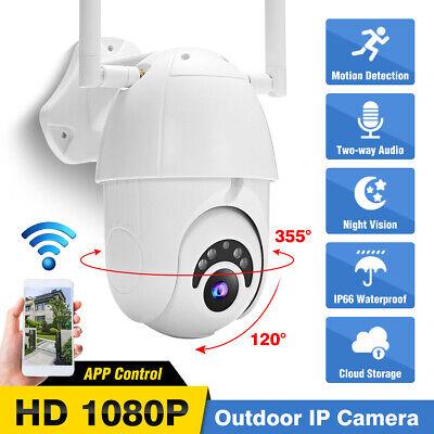 1080P HD Wifi IP Cámara Inalámbrico Onvif Exterior CCTV HD Hogar Alarma