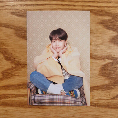 J hope Official Postcard BTS Map Of The Soul : Persona Genuine Kpop
