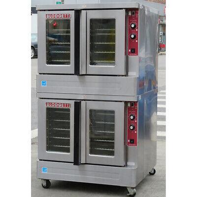Blodgett Zephaire-100-e Double Standard Depth Electric Convection Oven 480 Volt