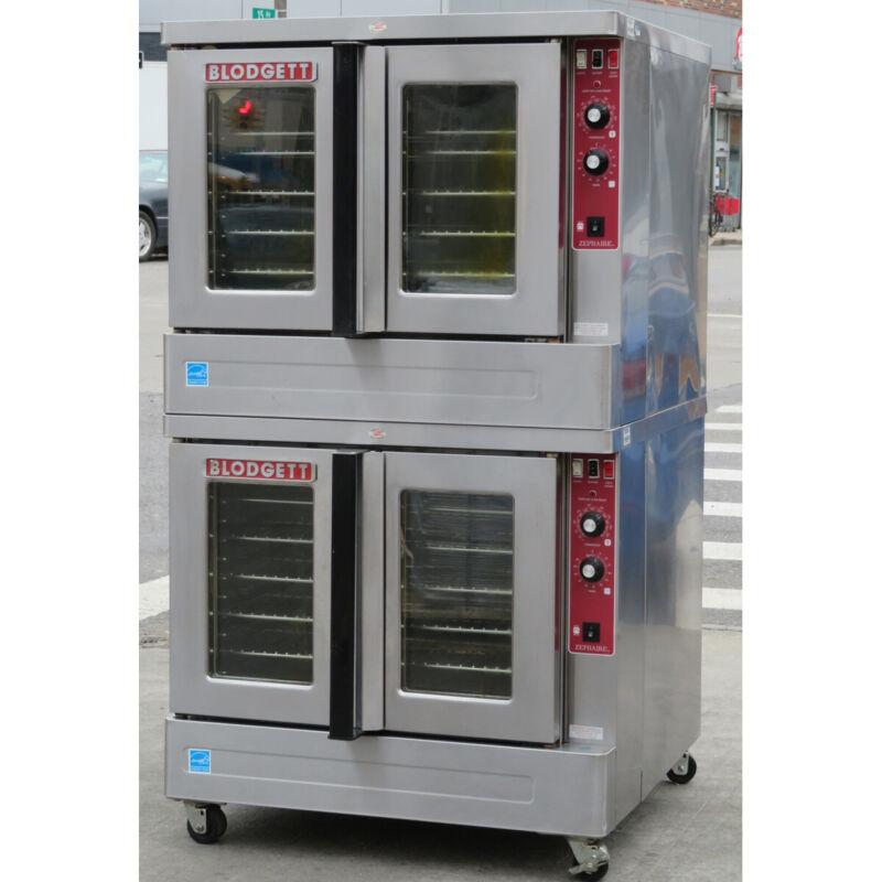 Blodgett ZEPHAIRE-100-E Double Standard Depth Electric Convection Oven, 480 Volt