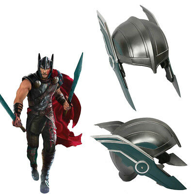 Thor Ragnarok Cosplay Helmet Costume Prop Mask Hero Adult Halloween Party Xcoser](Heroes Costumes)