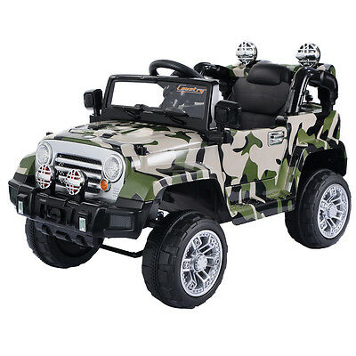 Kids Ride On Car 12V Electric Battery 4CH Remote Control Jeep Children Toys MP3