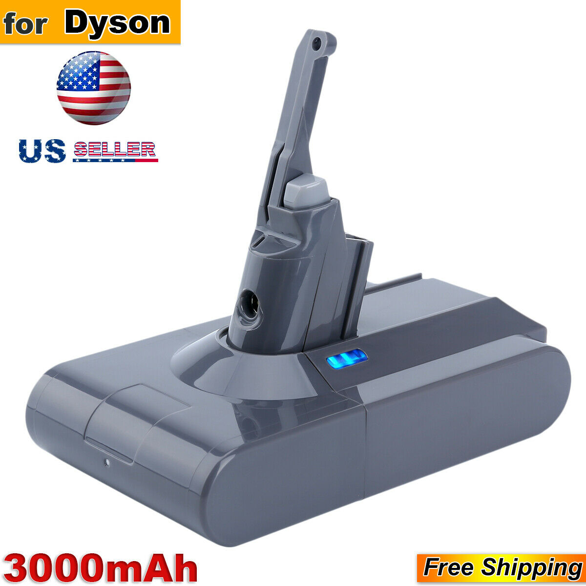 New 21.6V 3.0A Li-Ion Battery For Dyson V8 Absolute Handheld
