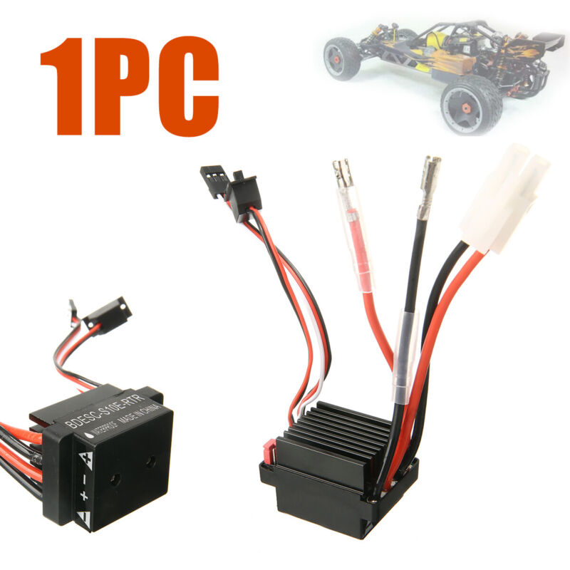 Waterproof Brushed Electronic Speed Controller ESC For RC RT