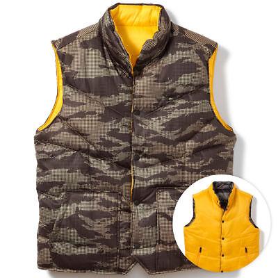 Camo Reversible Jacket (Oakley Men's Reversible Command Ouffer Vest Jacket - Olive)