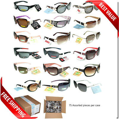 Wholesale Bulk Lot Foster Grant Sunglasses 75,150, 375 PC Box Assorted Brands  - Wholesale Shades