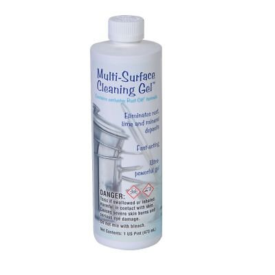 Multi-Surface Cleaning Gel- mineral, lime, and rust remover