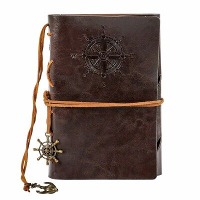 Vintage Classic Retro Horse Leather Journal Travel Notepad Notebook Blank Diary
