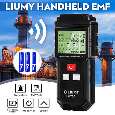 Lcd Electromagnetic Field Radiation Detector Emf Meter Anti Radiation Shield-us