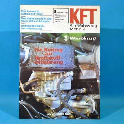 DDR KfT Kraftfahrzeugtechnik 9/1982 Simson S 51 Jawa 210 Multicar 25 Citroen 53