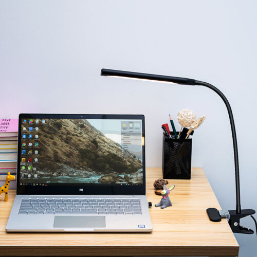 Dimmable Flexible USB Clip-On Desk 48 LED Table Reading Book
