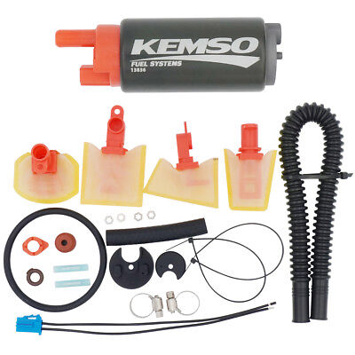 KEMSO High Performance Electric Fuel Pump &  Install Kit 13836
