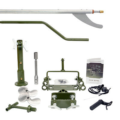 COMPLETE LONGTAIL MUD MOTOR KIT - up to 7 HP Duck Boat