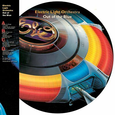 ELECTRIC LIGHT ORCHESTRA OUT OF THE BLUE 40th ANNIVERSARY 2LP PICTURE DISC VINYL