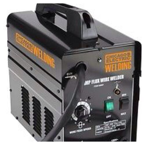 Chicago Electric 90 Amp Flux Wire Welder Gasless Core Auto Feeder Free Ship