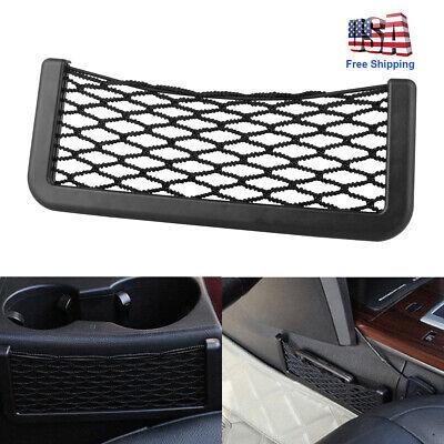 1x Auto SUV Car Interior Body Edge Elastic Net Storage Phone Holder Accessories