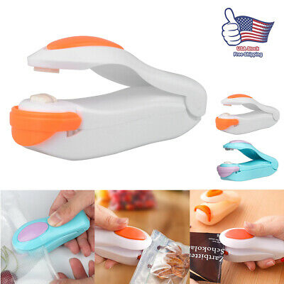 Food Heat Sealing Machine Plastic Portable Impulse Packing Snack Bag Sealer Tool