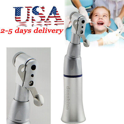 Dental Clinic Slow Low Speed Handpiece Contra Angle Handpiece Latch Bur Turning